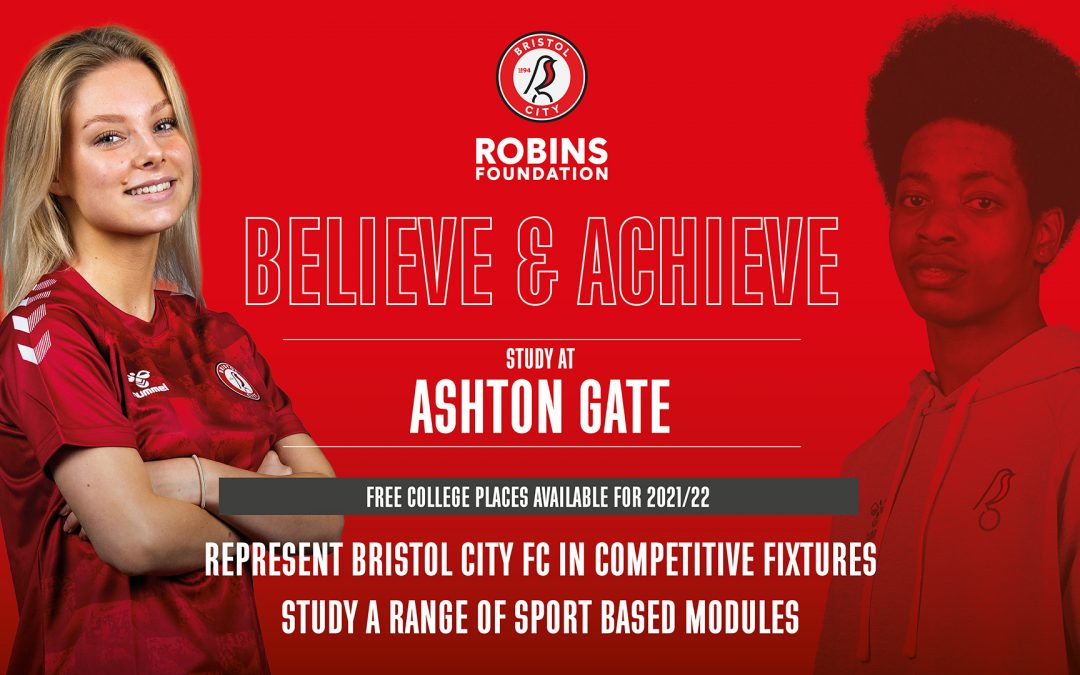 Post 16 courses with Bristol City Robins Foundation at Ashton Gate